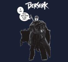 Berserk Manga - Bump in the Night w/ Logo by hardrada
