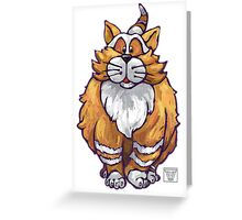 Animal Parade Ginger Cat Greeting Card