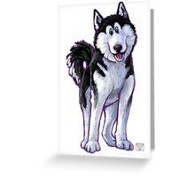 Animal Parade Husky Greeting Card