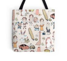 Benedict and Martin as Things All Over Tote Bag