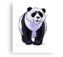 Animal Parade Panda Bear Canvas Print