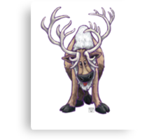 Animal Parade Reindeer Canvas Print