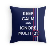 Multi 21 Throw Pillow