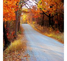 Fall in Oklahoma Photographic Print