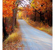 Fall in Oklahoma Photographic Print