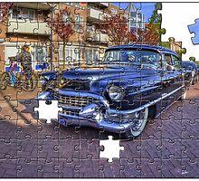 Car Jigsaw by Aheroy