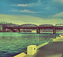 Hotmetal Bridge Monongahela River by HotSaus Design