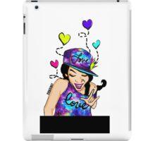 "Scream ""I LOVE YOU!"" Sign Language iPad Case/Skin"