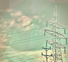 Abstract Power lines by HotSaus Design