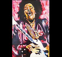 """Jimmi Hendrix 1"" by Kevin J Cooper"