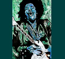 """Jimmi Hendrix 2"" by Kevin J Cooper"