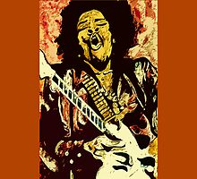 """Jimmi Hendrix 4"" by Kevin J Cooper"