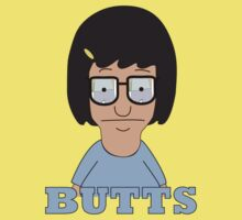 Bobs Burgers - Tina Butts by RumShirt