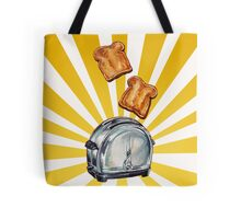 Toast and Toaster Tote Bag