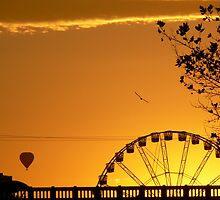 Melbourne sunrise by PhotosByG