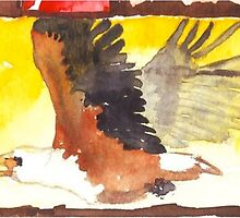 African Fish Eagle - Ethnic series by Maree  Clarkson