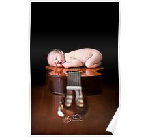 Guitar Baby Poster