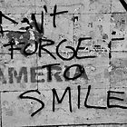 Don't forget to smile by David Perrin