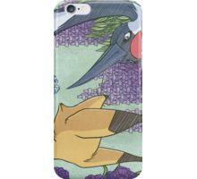 Kitsune and Crane iPhone Case/Skin