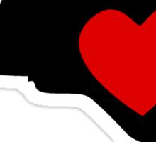 North Carolina Heart Sticker