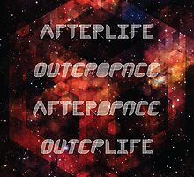 Afterlife/Outerspace FEZ Poster by Lexie Mason-Davis