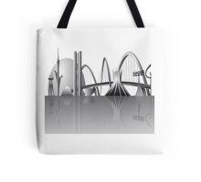 Brasilia city skyline Tote Bag