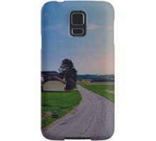 Country road on a summer afternoon II | landscape photography Samsung Galaxy Case/Skin