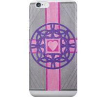 Pink Celtic Heart Cross iPhone Case/Skin