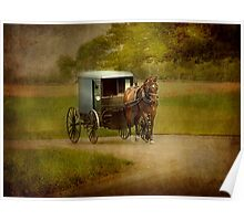 An Amish Country Ride Poster