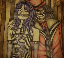Twisted the Clown and Papa Lazarou by TwistedtheClown
