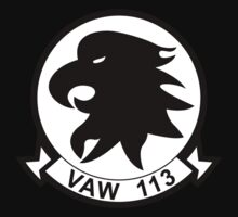 VAW -113 - Black Eagles Airborne Early Warning Squadron Kids Clothes