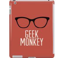 geek monkey iPad Case/Skin