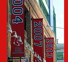 Red Sox Banners phone case  by Ryan Paradis