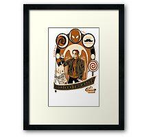Archangel Gabriel Crest Framed Print