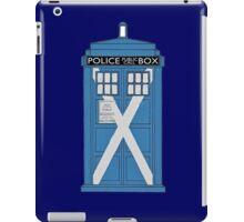 Scottish TARDIS. iPad Case/Skin