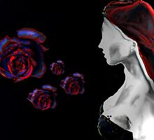 She has a few roses by Maria Julia Bastias