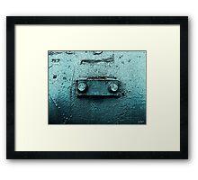 Meep - Metal Frog Framed Print