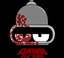 Bender Dawn of the Future - Dark by zombieguy01