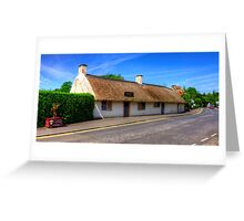 Burns Cottage Greeting Card