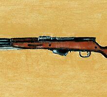 Gun - Rifle - SKS by Anastasiya Malakhova
