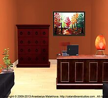 Interior Design Idea - Autumn by Anastasiya Malakhova
