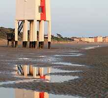 Burnham-on-Sea Low Lighthouse by Hannah Welbourn