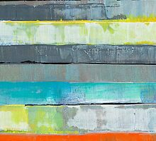 Metro l urban design stripes by JodiFuchsArt