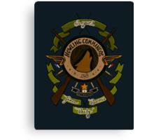 Sgt James Bucky Barnes (green) Canvas Print