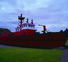 Old Fire Boat by MichaelWick