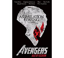 Ultron is Coming Photographic Print