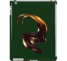 Helmet of Loki iPad Case/Skin