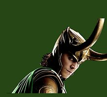 loki of asgard  by Audrey Metcalf