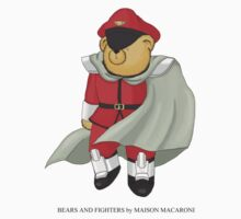 BEARS and FIGHTERS - M. Bison by MAISON-MACARONI