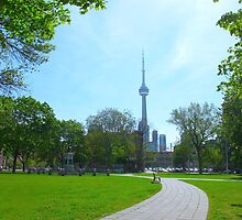 Facing Toronto by MarianBendeth